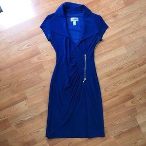 Blue Business Dress